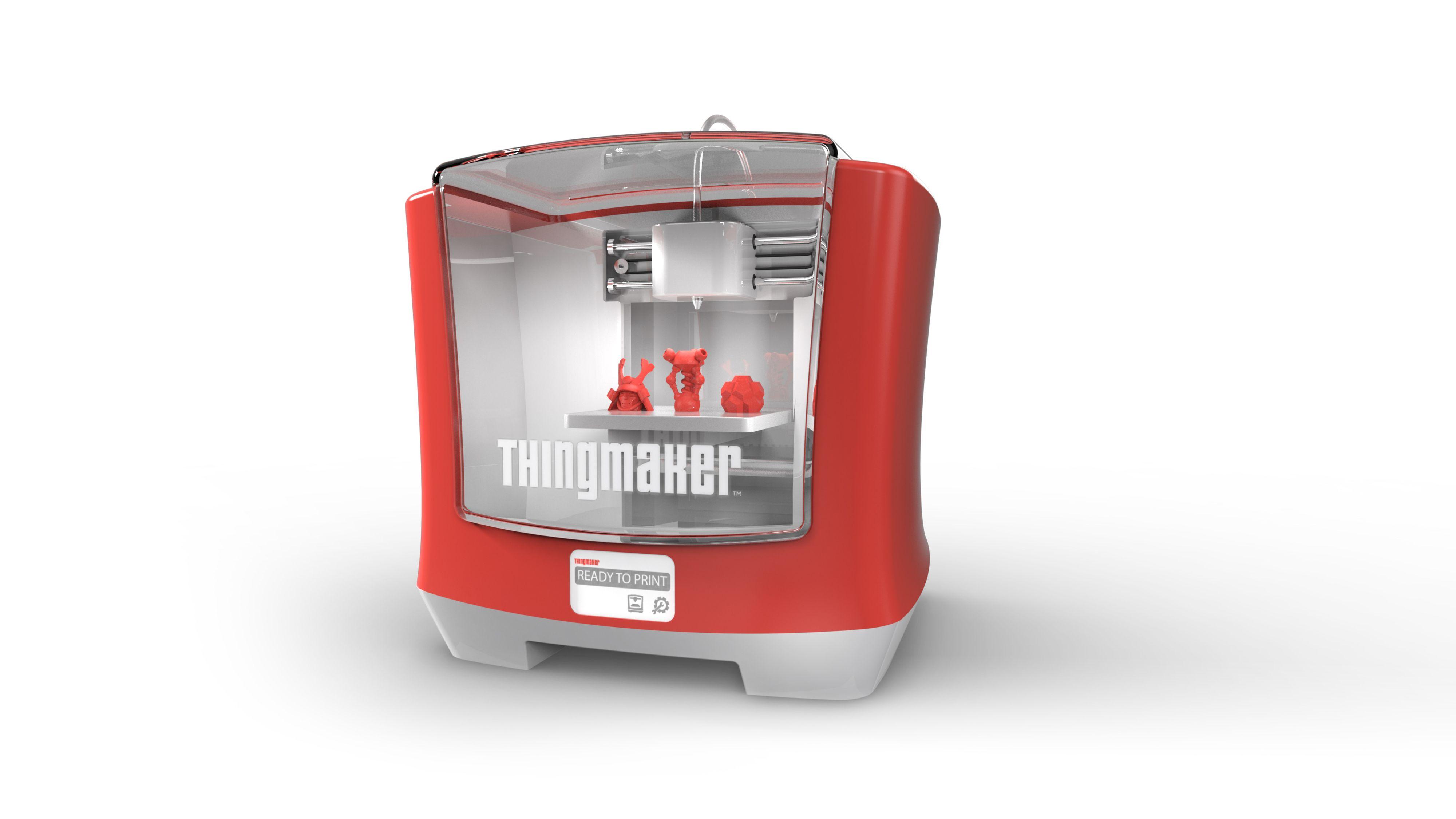 3D-skriveren skal være enkel i bruk og har et ganske «hjemlig» design.