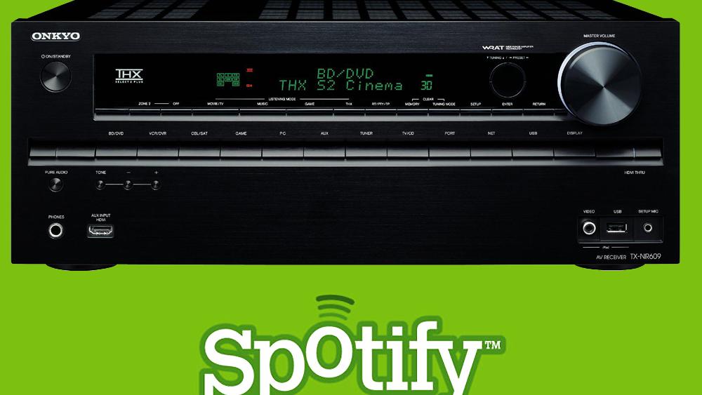 Spotify samarbeider med Onkyo