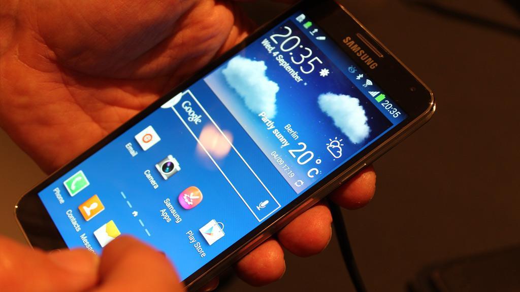 Samsung Galaxy Note 3.Foto: Espen Irwing Swang, Amobil.no
