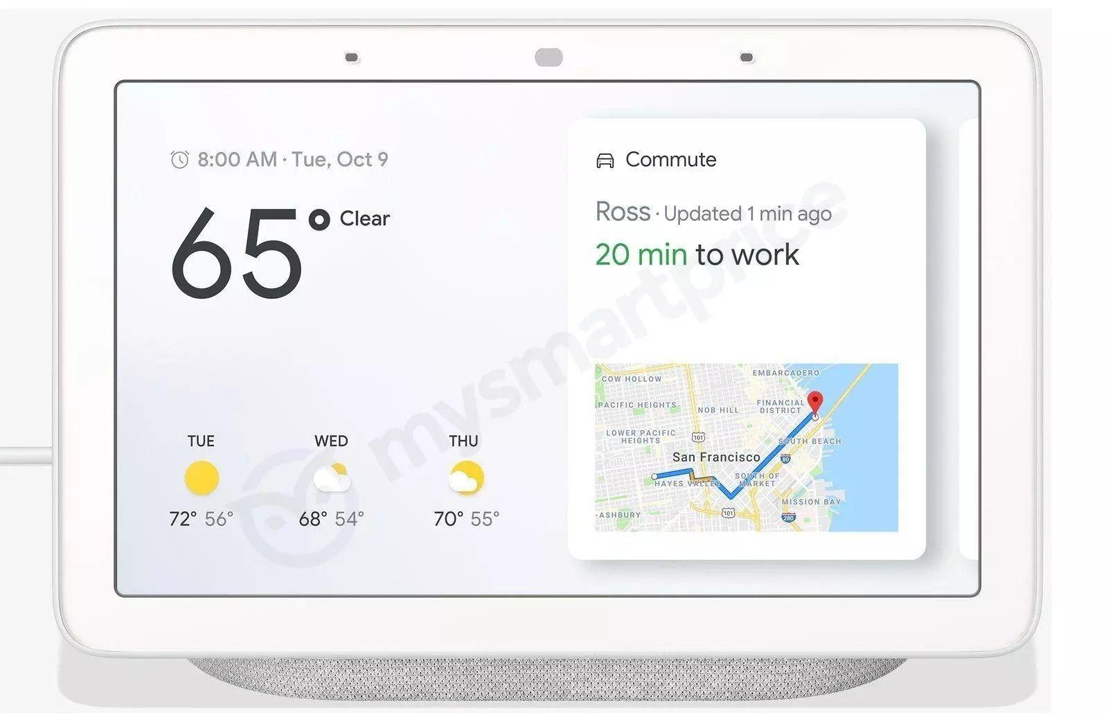 Google Home Hub gir deg en oversikt over alle andre Home-produkter i hjemmet, men kan også fungere som en egen smarthøyttaler.