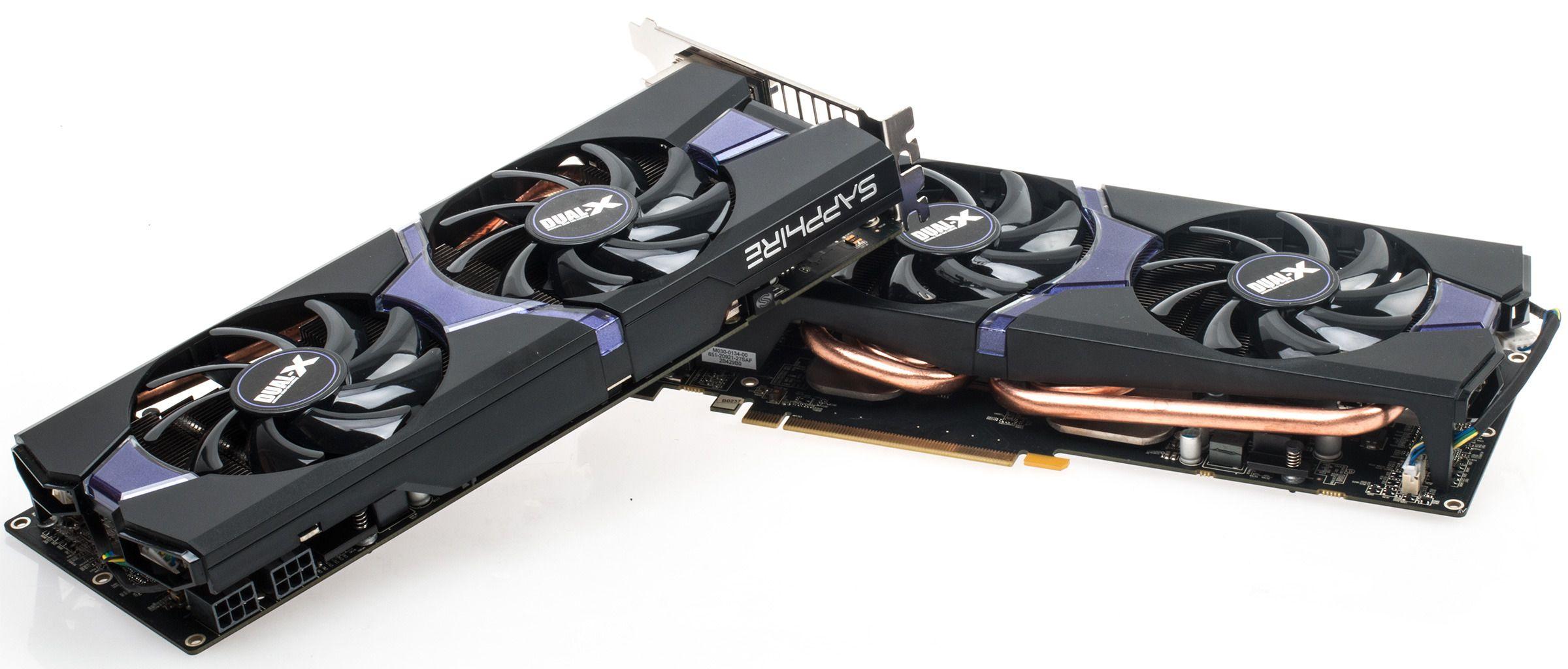 Sapphire Radeon R9 285 OC Dual-X Crossfire.Foto: Varg Aamo, Tek.no