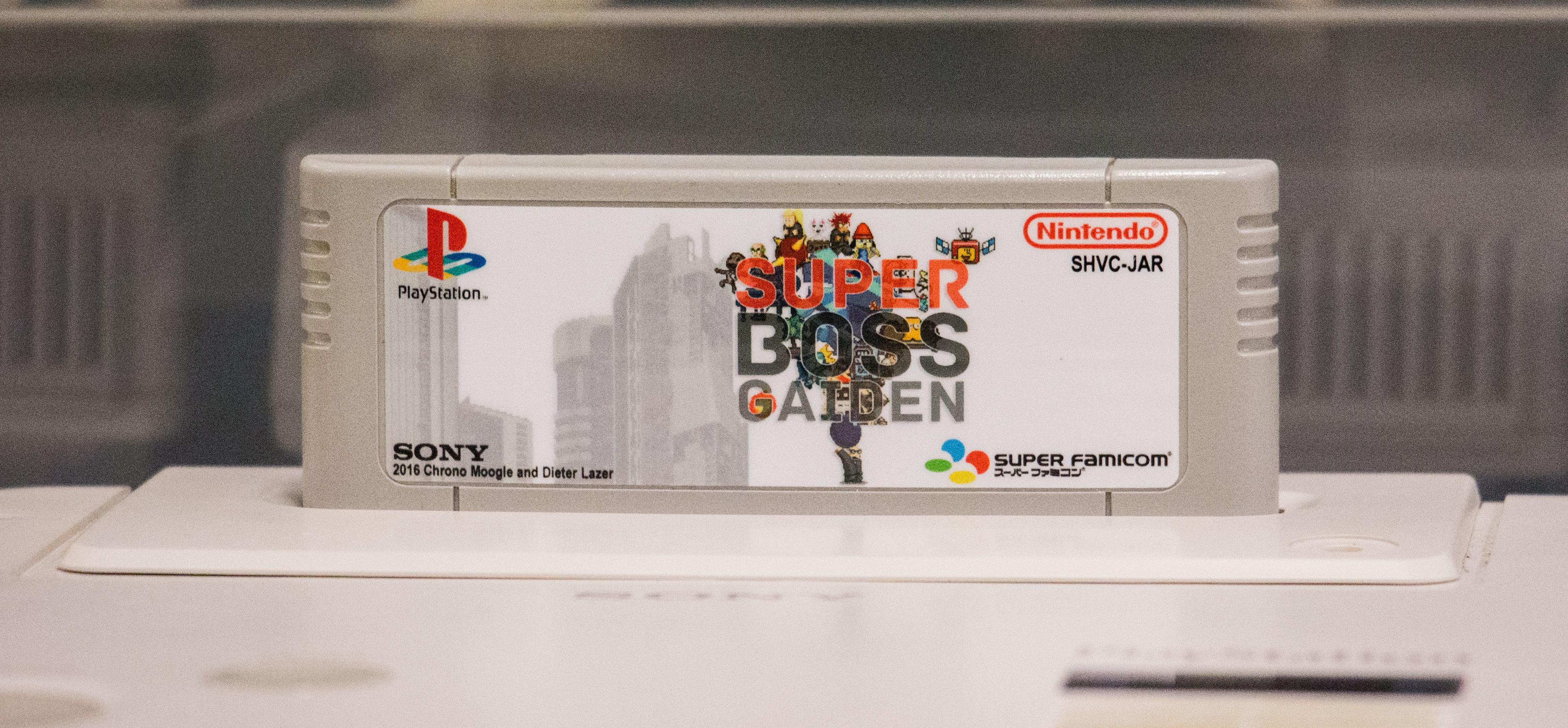 Super Boss Gaiden ble laget av et par spillentusiaster for «Nintendo PlayStation.