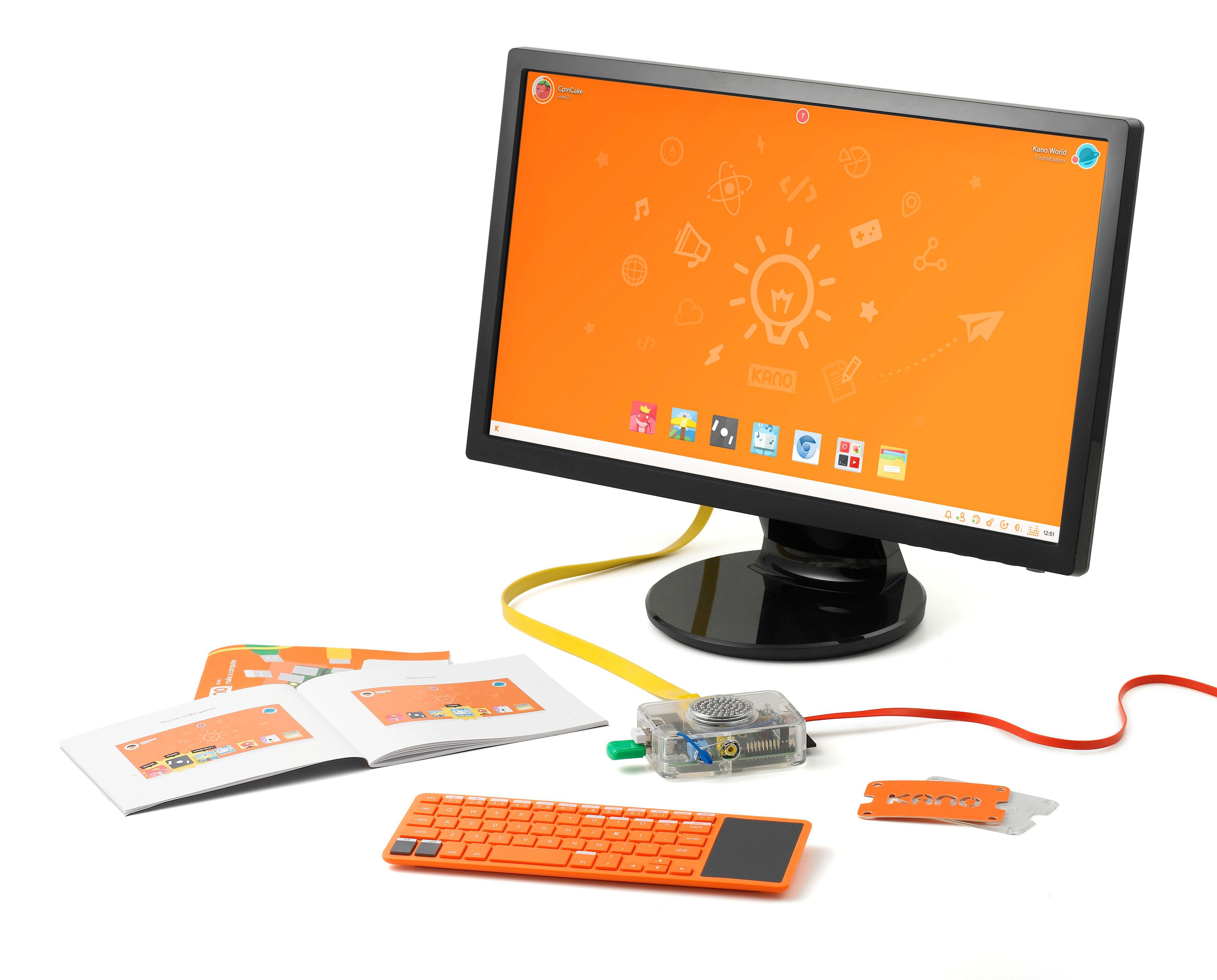 Kano er en (nesten) komplett Raspberry Pi-pakke.Foto: Kano Computing