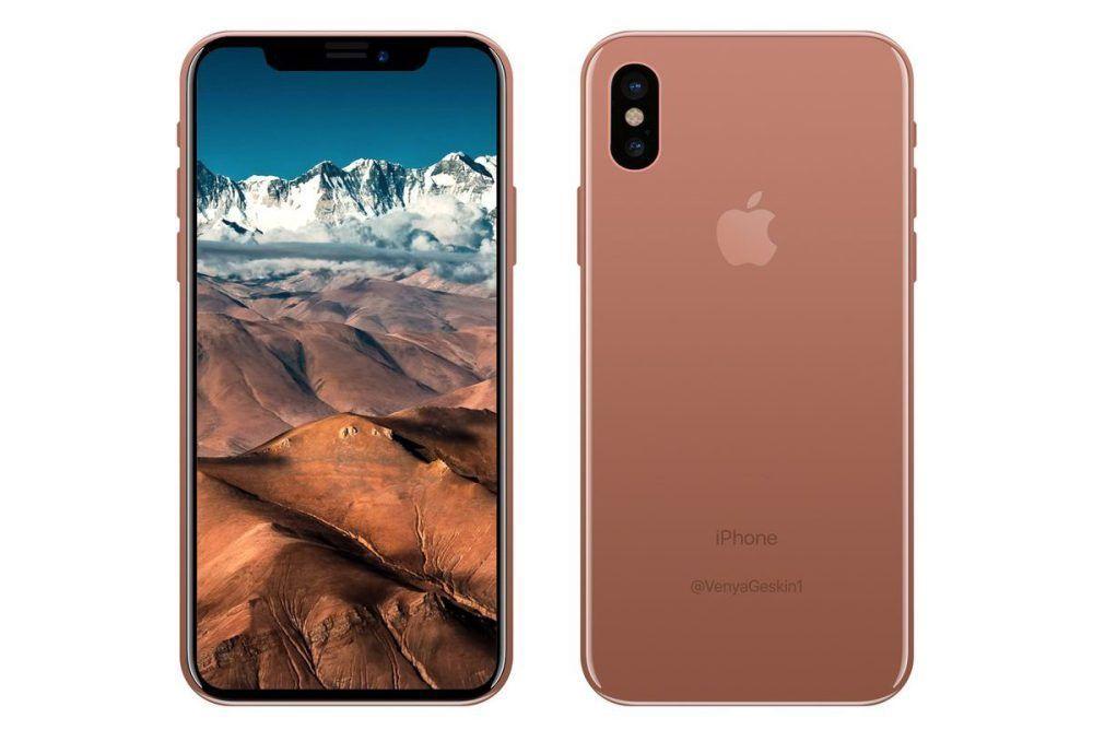 Slik tror designeren Geskin at iPhone 8 vil se ut.