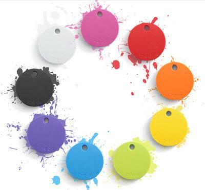 Chipolo kommer i mange forskjellige farger, så her er det bare å slå seg løs.