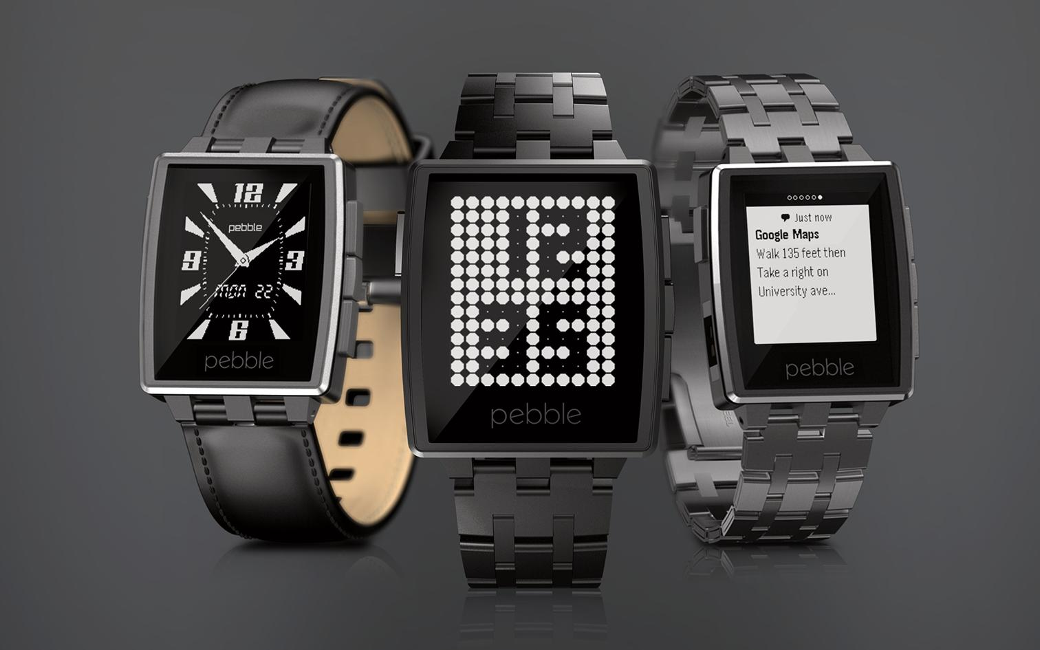 Pebble Steel.Foto: Pebble