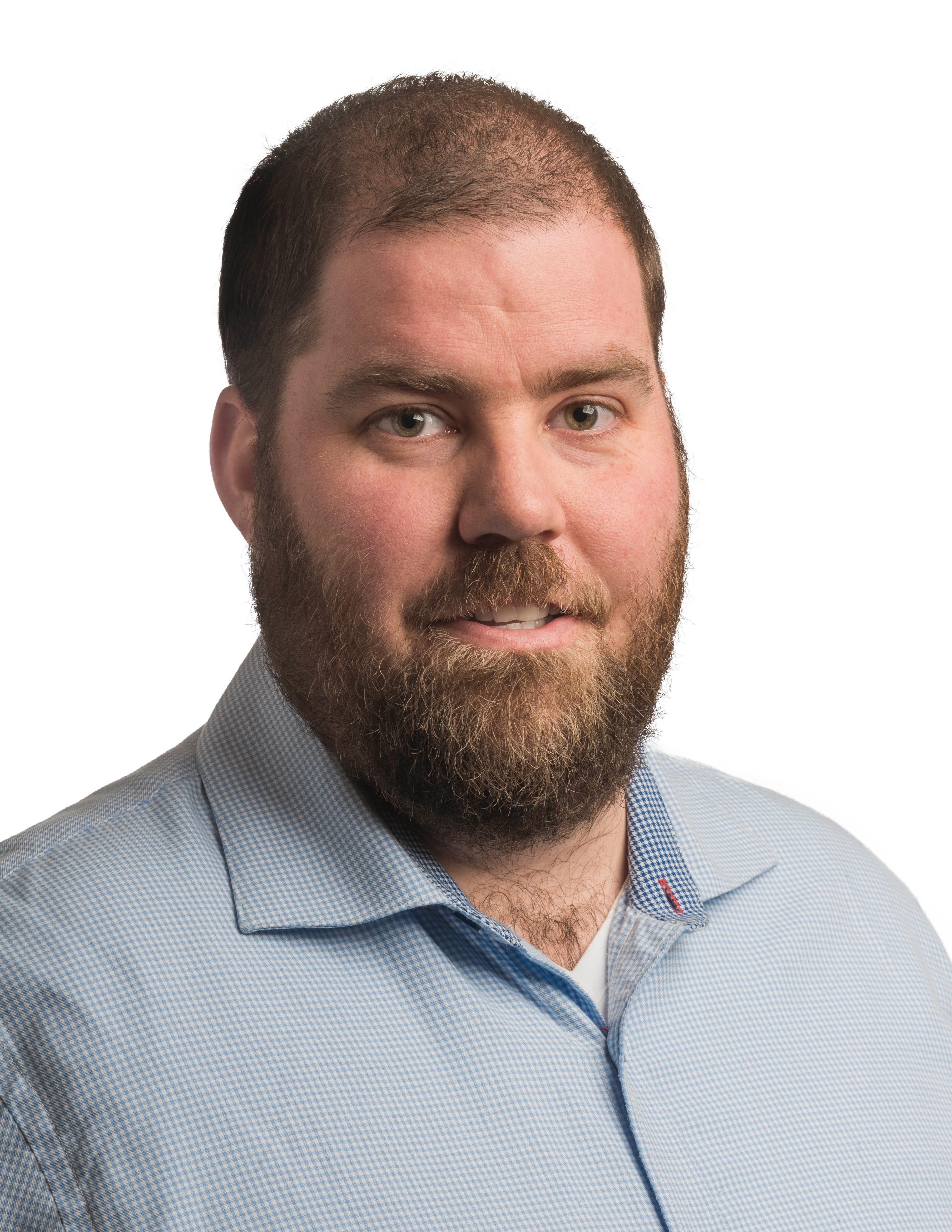 Pressevakt i Ruter, Øystein Dahl Johansen.