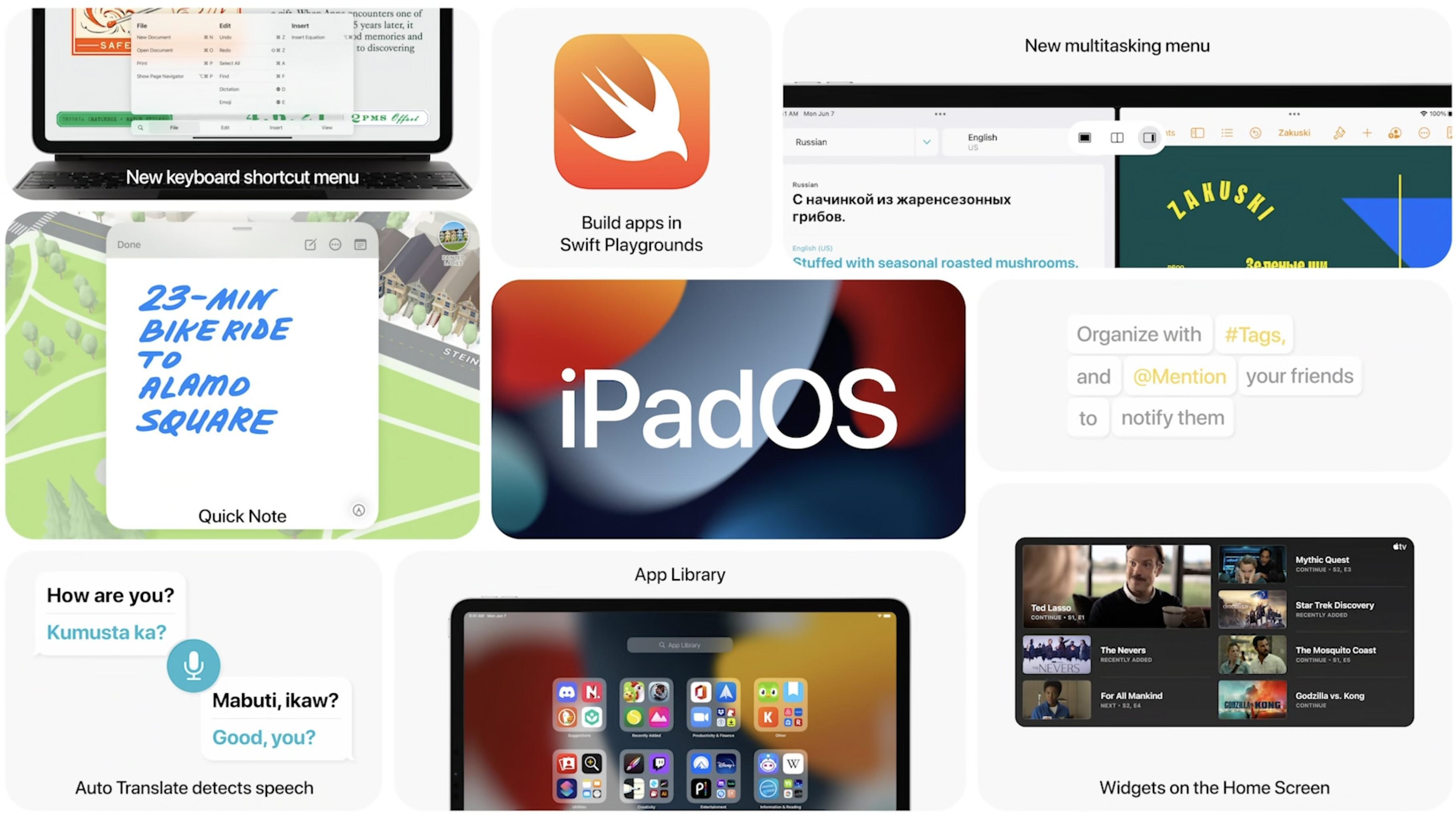 Neste iPadOS vil by på bedre multitasking og widgets på hjemmeskjermen