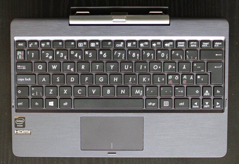 Tastaturet er litt smått, men likevel relativt godt.Foto: Vegar Jansen, Hardware.no