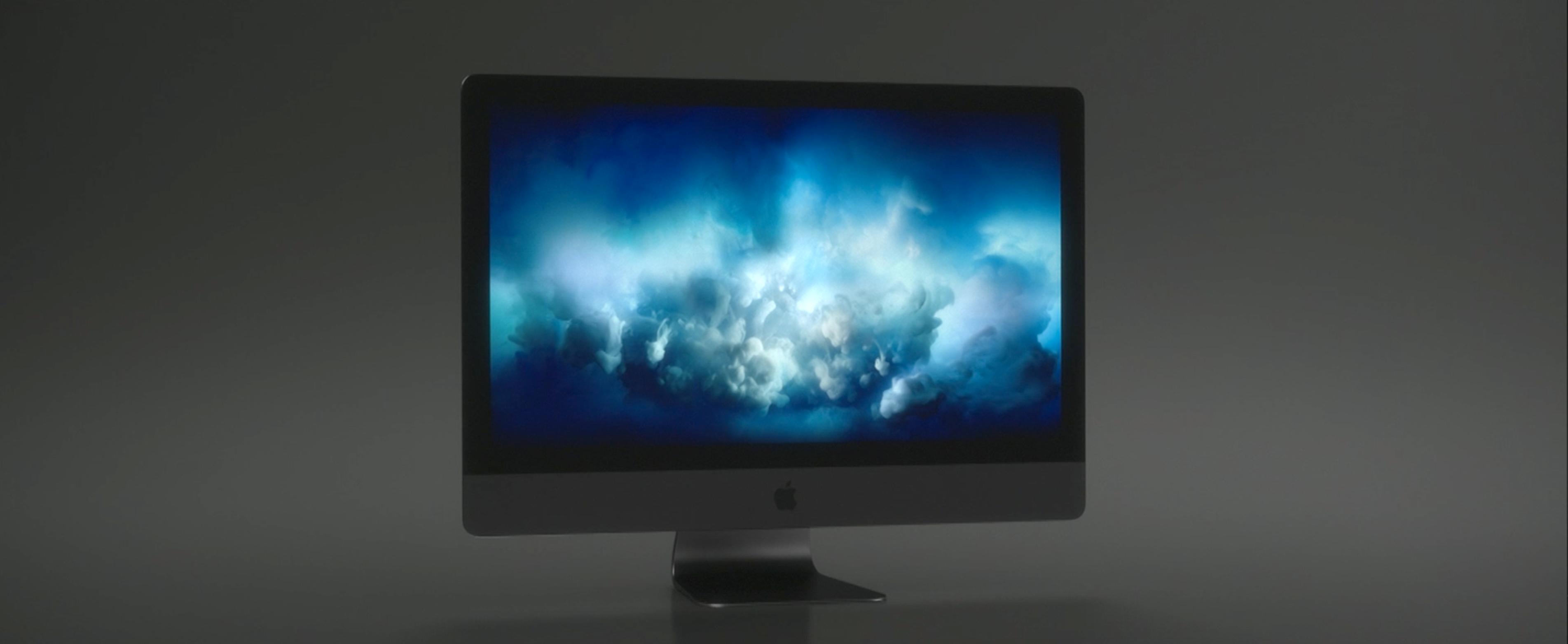 Sniktitt på iMac Pro.