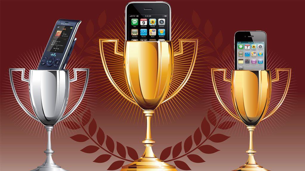 Her er de 25 mest populære mobilene