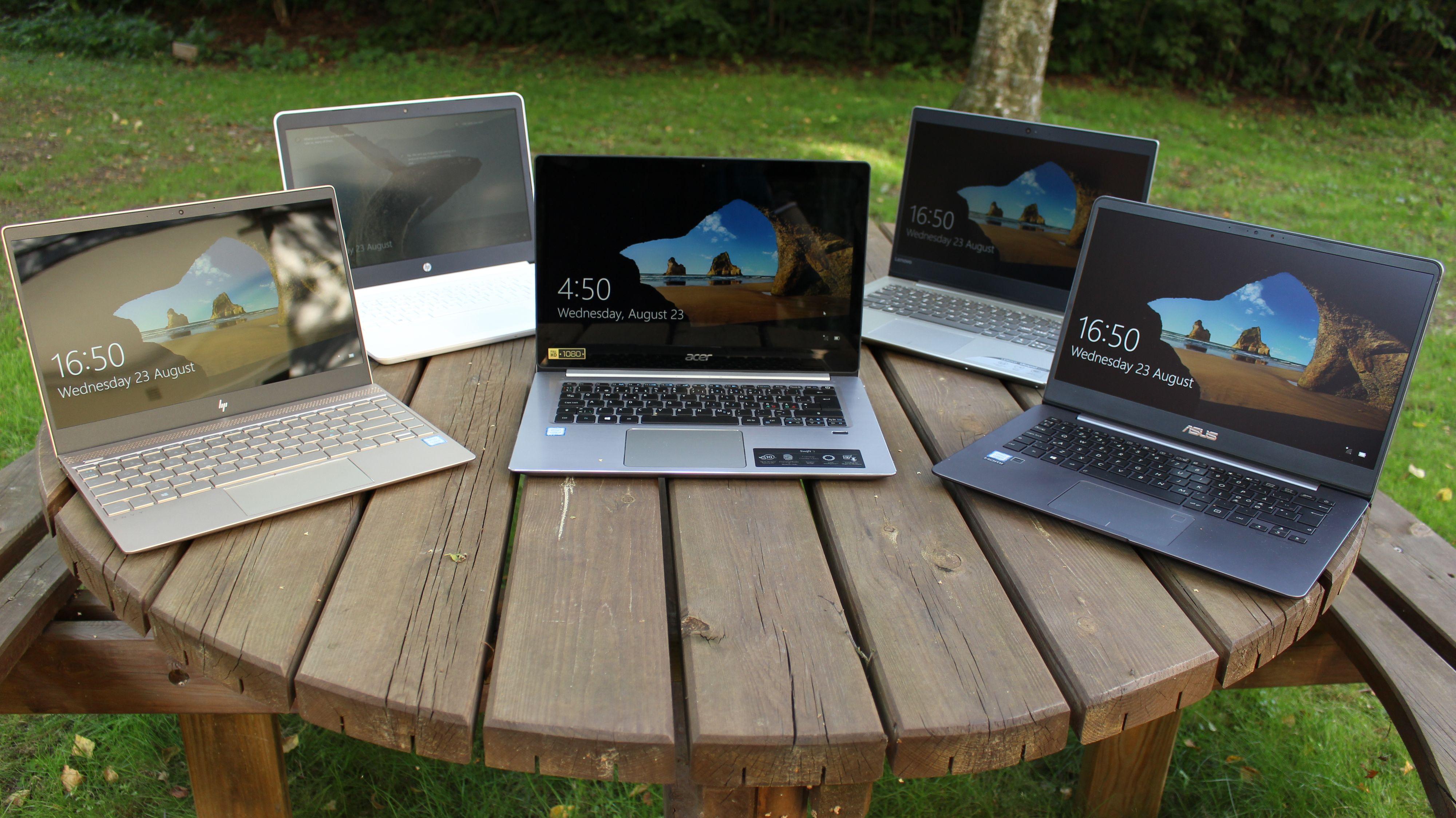 Bærbar Mac vs. PC Test Tek.no