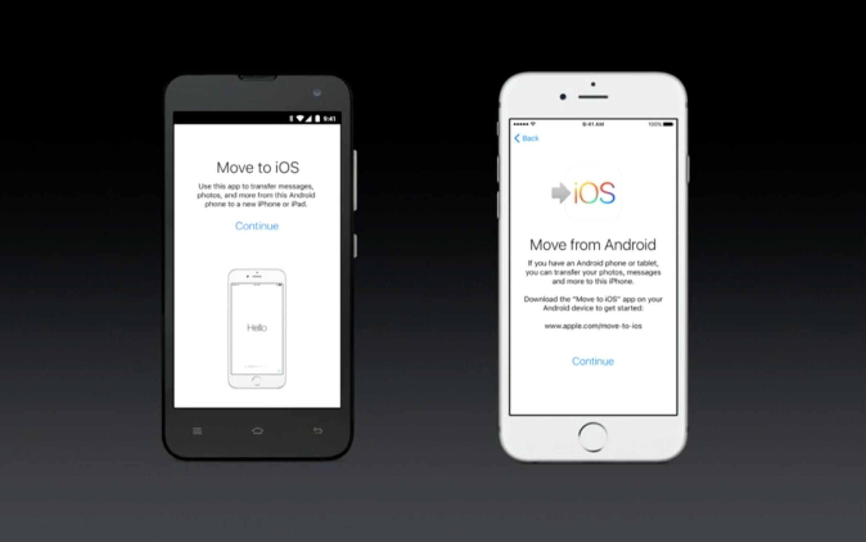 Apple har laget sin første Android-app: En app for å hjelpe Android-brukere over til iOS-plattformen.