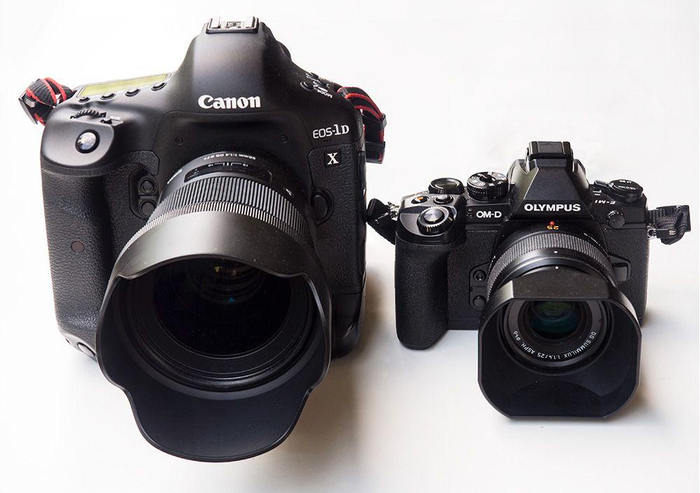 Forskjellige filosofier: Sigma 50mm Art F1.4 DG HSM på Canon 1D X og Panasonic 25mm F1.4 på Olympus E-M1