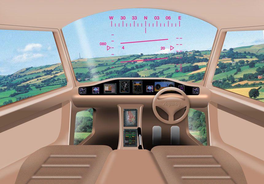 ENKEL: Målet er å gjøre maskinen så enkel å navigere som overhode mulig.Foto: MYCOPTER.EU