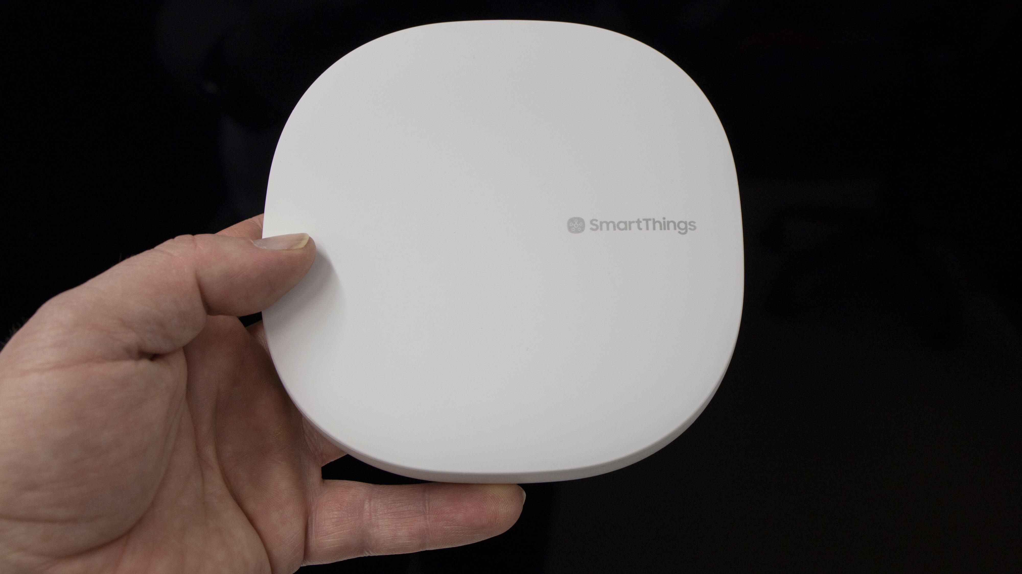 SmartThings Hub kan mer enn å styre Samsungs smarte dingser