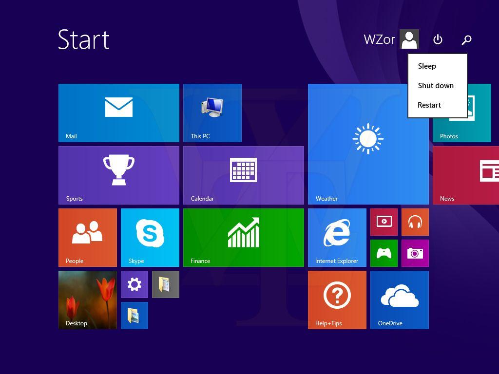 I den ubekreftede oppdateringen skal det være lettere å slå av maskinen din.Foto: WZor.net