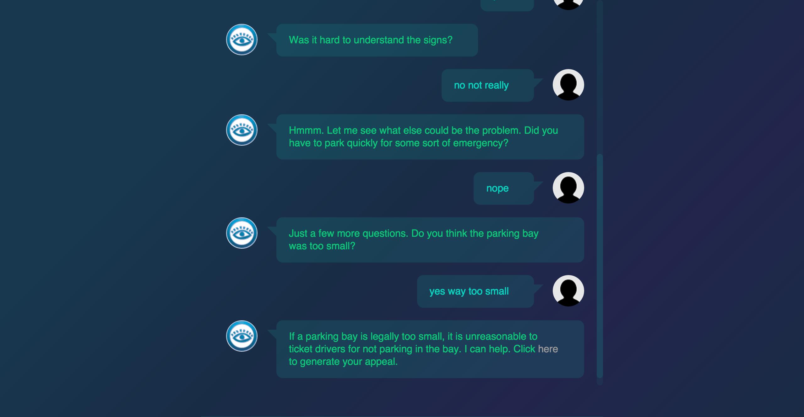 Ved hjelp av noen enkle spørsmål klarer programmet å generere fungerende klagebrev.