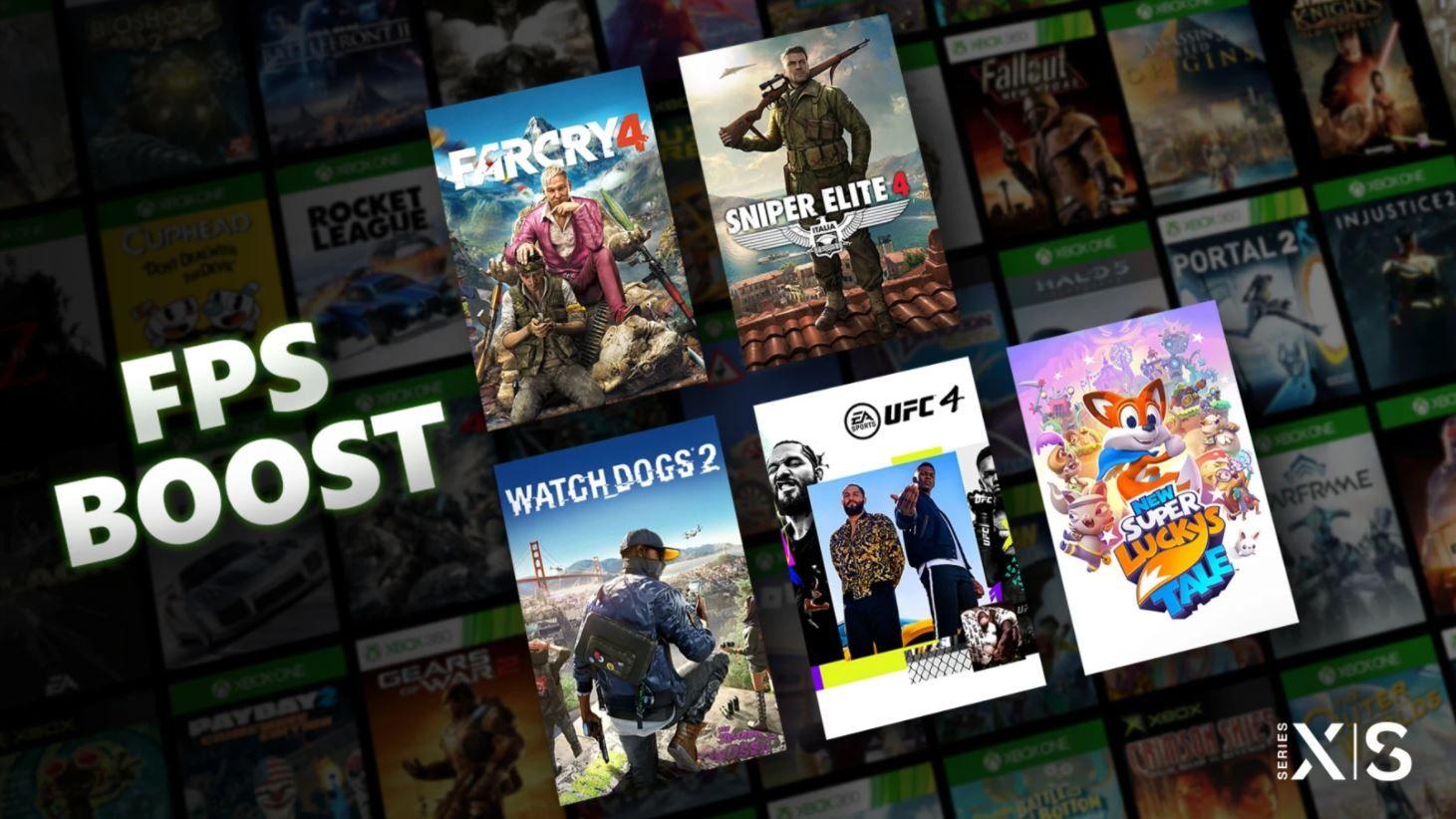 Bare en håndfull spill støtter FPS Boost til nå, men Microsoft lover at funksjonen kommer til flere spill snart.