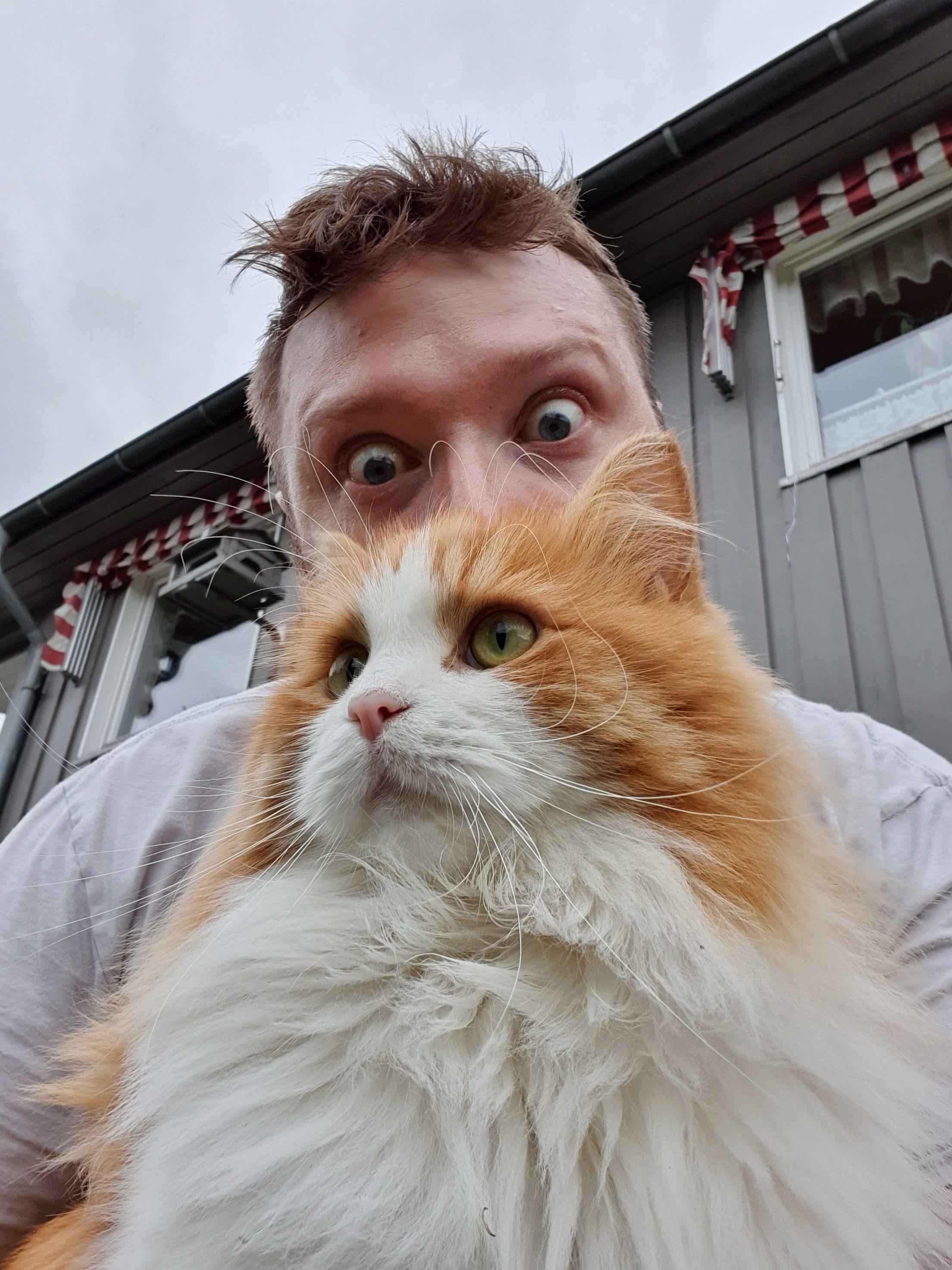 Også selfiekameraet tar ålreite bilder - litt avhengig av hva du plasserer foran det.