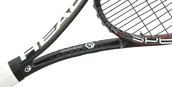 Grafén sin utrolig lave vekt og styrke, bruker Head materialet i sine tennisrackerter.Foto: Head.com.