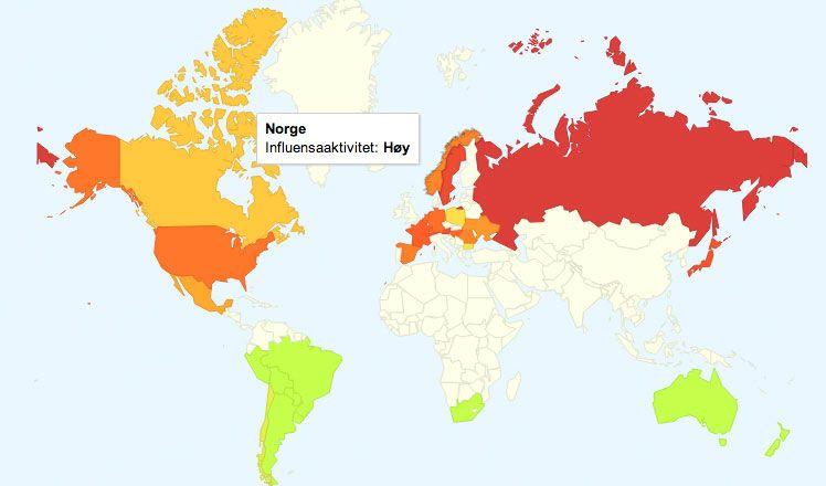Googles verktøy for å avdekke influensautbrudd gjennom søkestatistikk er så presist at helsemyndighetene i en rekke land har begynt å ta det i bruk. Foto: Mobilen.no