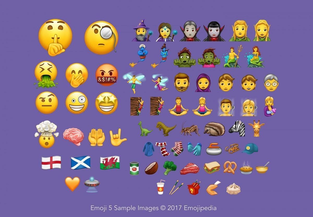 Dette er alle de nye emojiene som kommer.