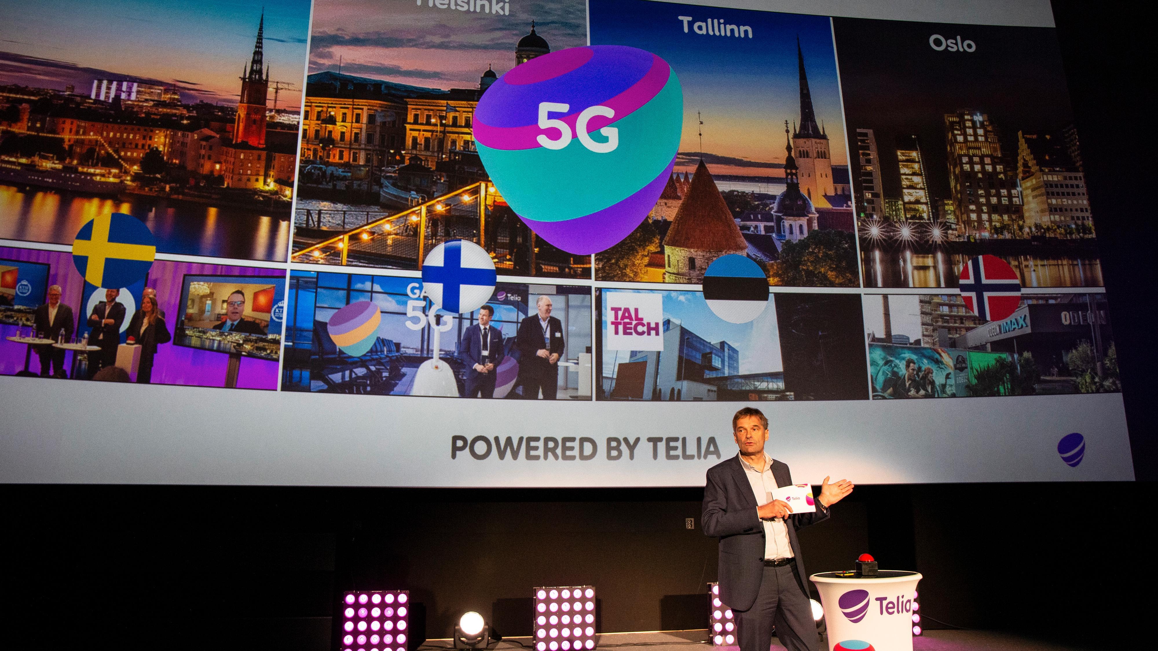 Telia-sjef Abraham Foss sier de nå skal utforske 5G-teknologien videre, men kan ikke tidfeste noen kommersiell lansering i Norge.