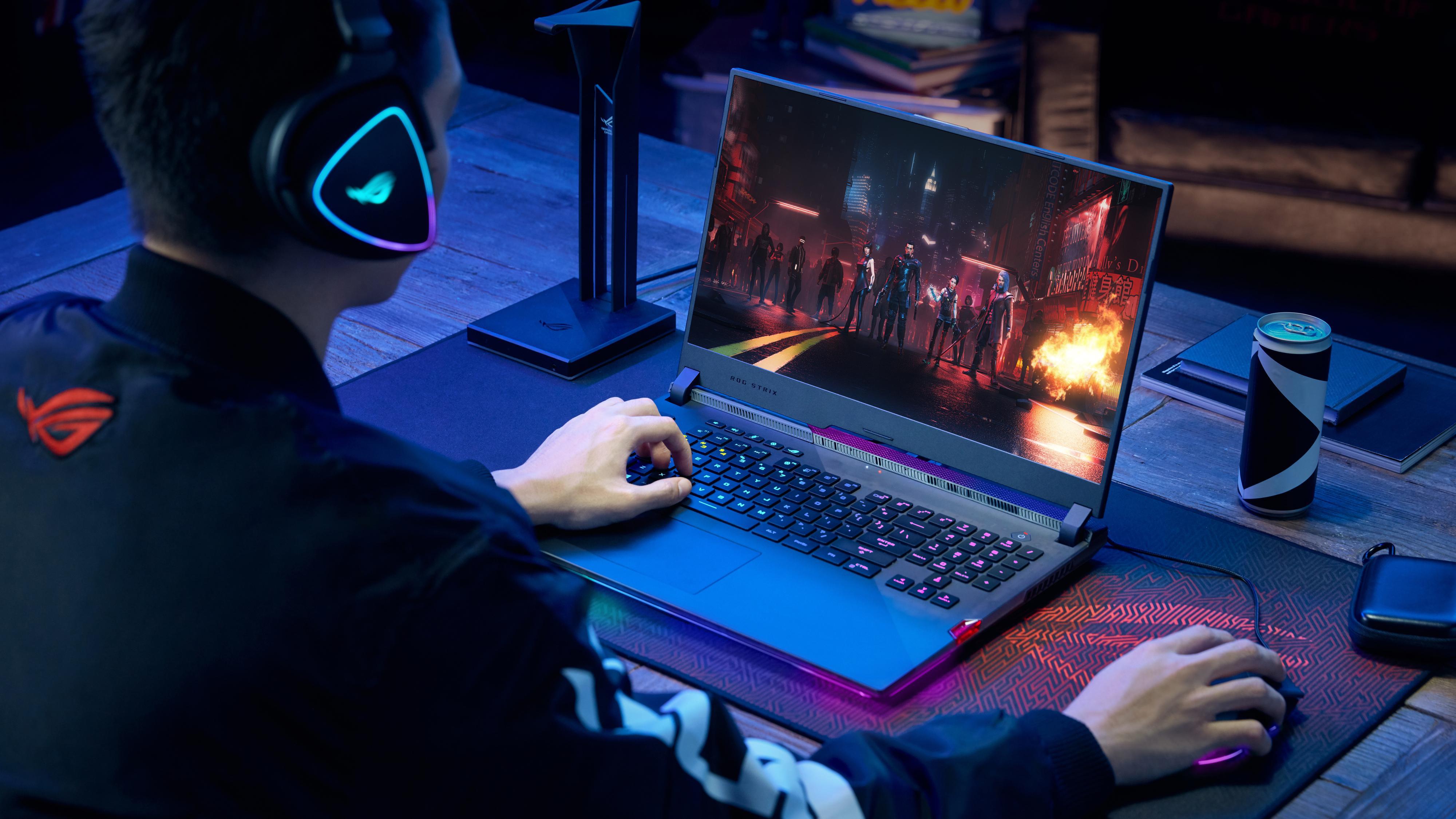 Asus lanserer gaminglaptop med verdens raskeste skjerm
