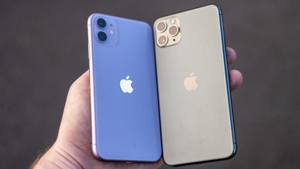 Dagens iPhone 11 og iPhone 11 Pro har Lightning-innganger nederst.
