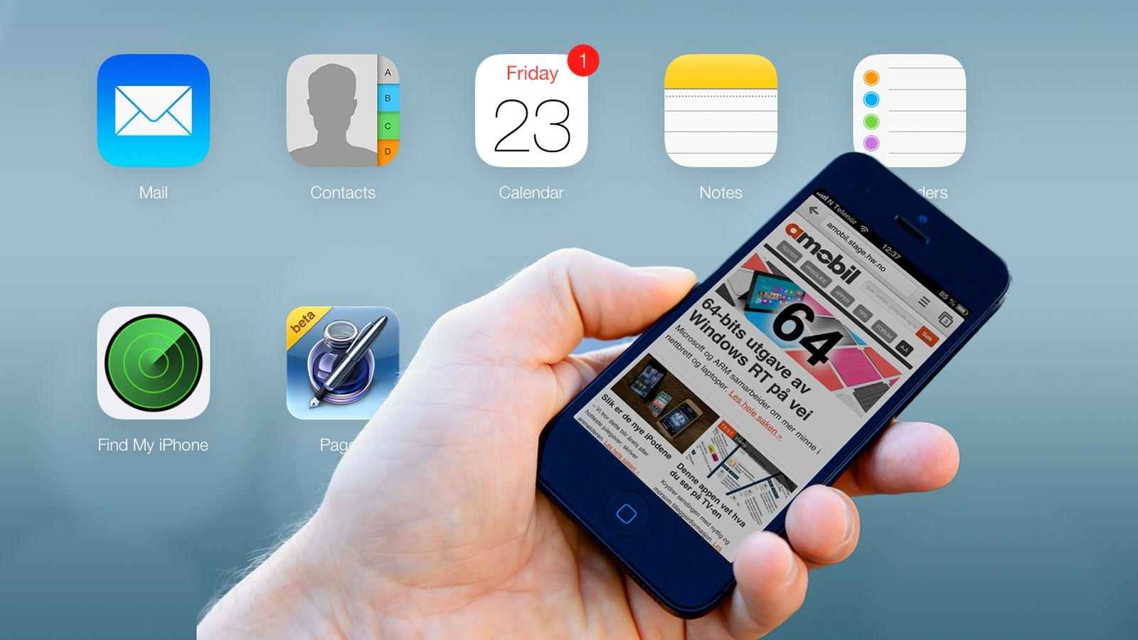 Apples iCloud blir ny