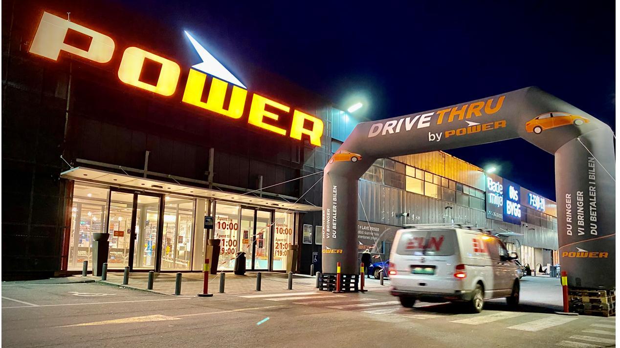 Også Power lanserer Drive-Thru-handling