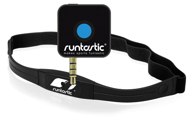 Dette tilleggsutstyret gir deg pulsmåling også i Runtastic-appen på mobiltelefonen.Foto: Runtastic