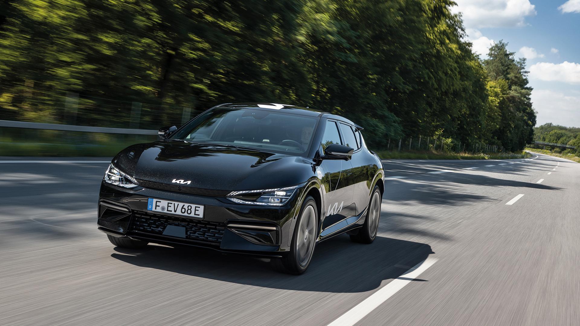 Kias EV6 kommer nå også med 58 kWh-batteri.