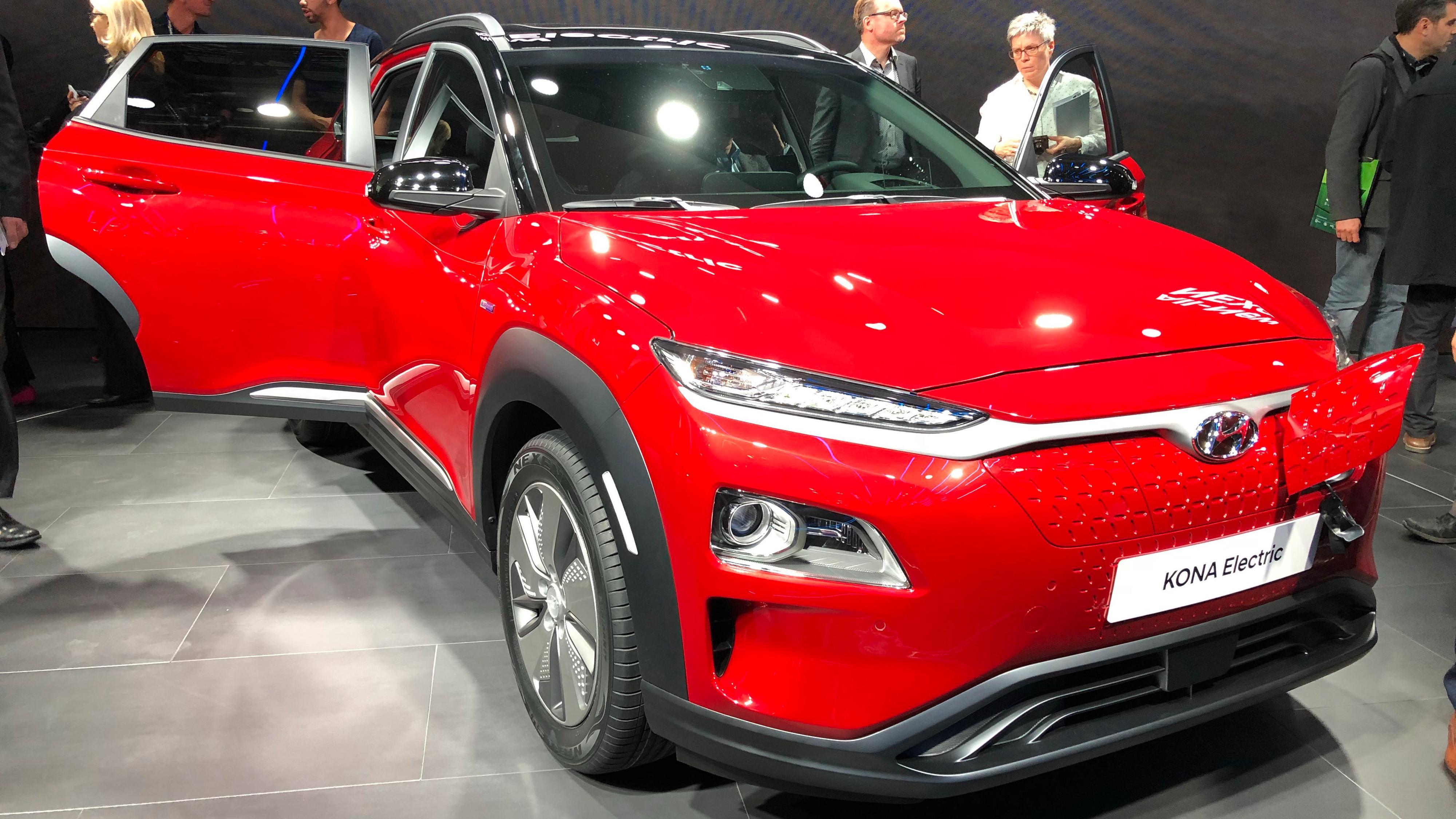 Hyundai oppgraderer Kona Electric