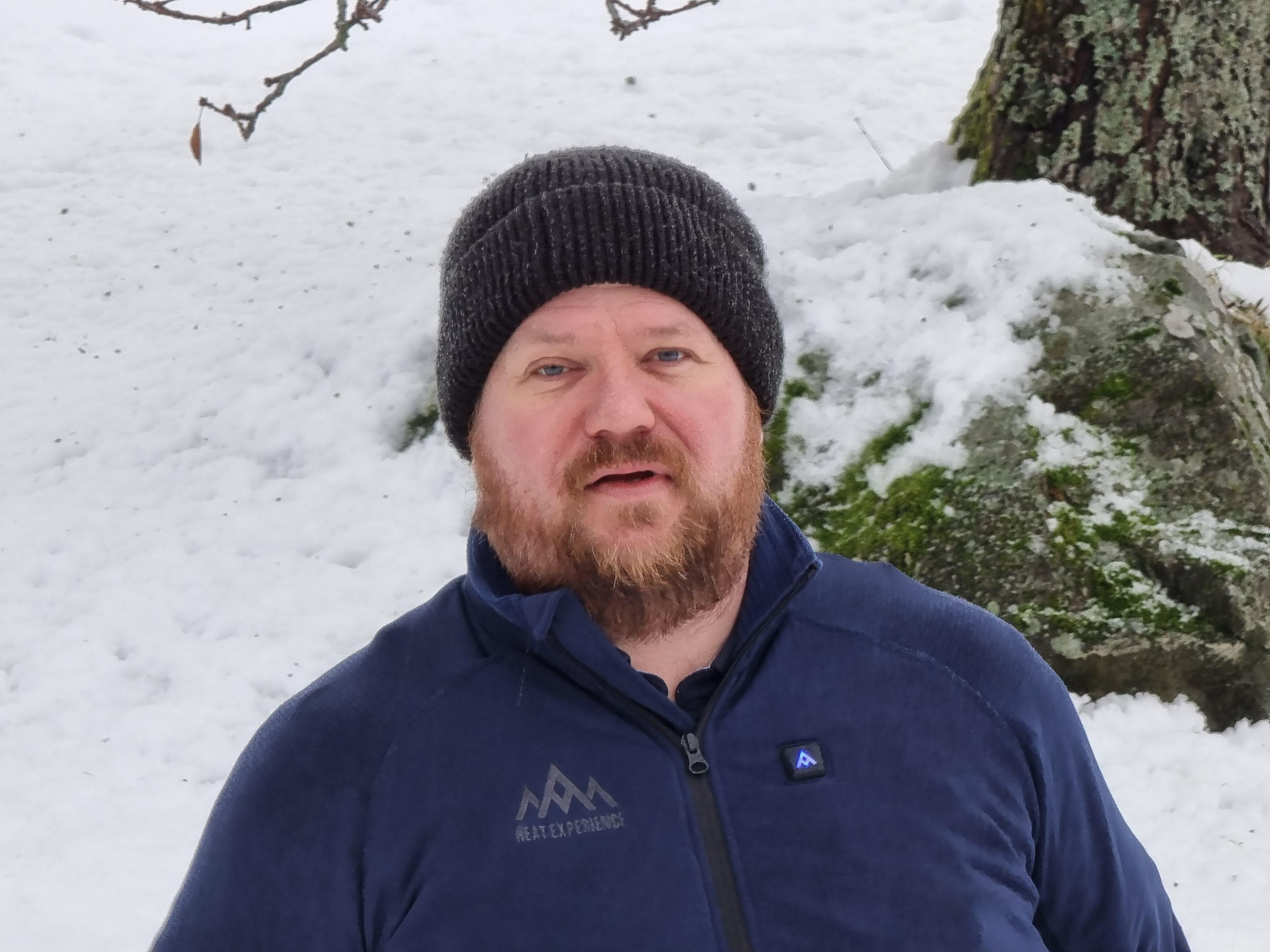 Ole Henrik Johansen zoomet inn.