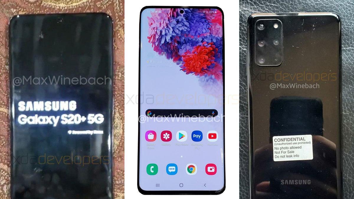 Dette skal være Samsung Galaxy S20