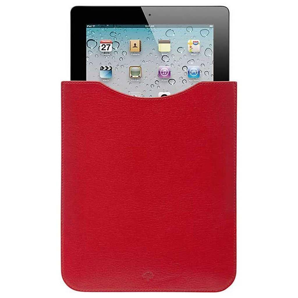 Deksler kan koste flesk. Denne enkle iPad-lommen fra Mulberry koster mellom 1500 og 2000 kroner.Foto: Mulberry
