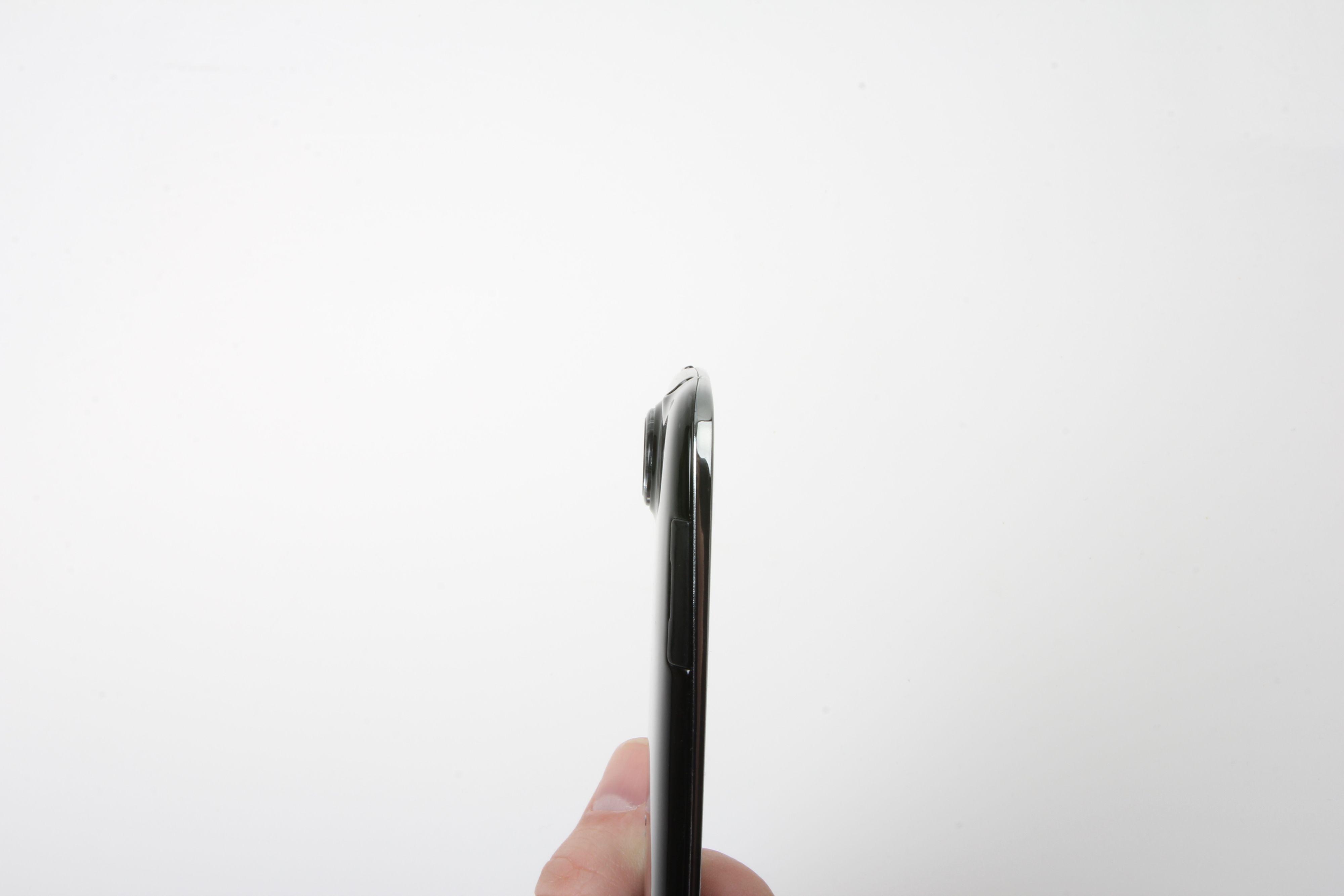 Acer Liquid Jade, kameraet stikker en del ut fra resten av telefonen