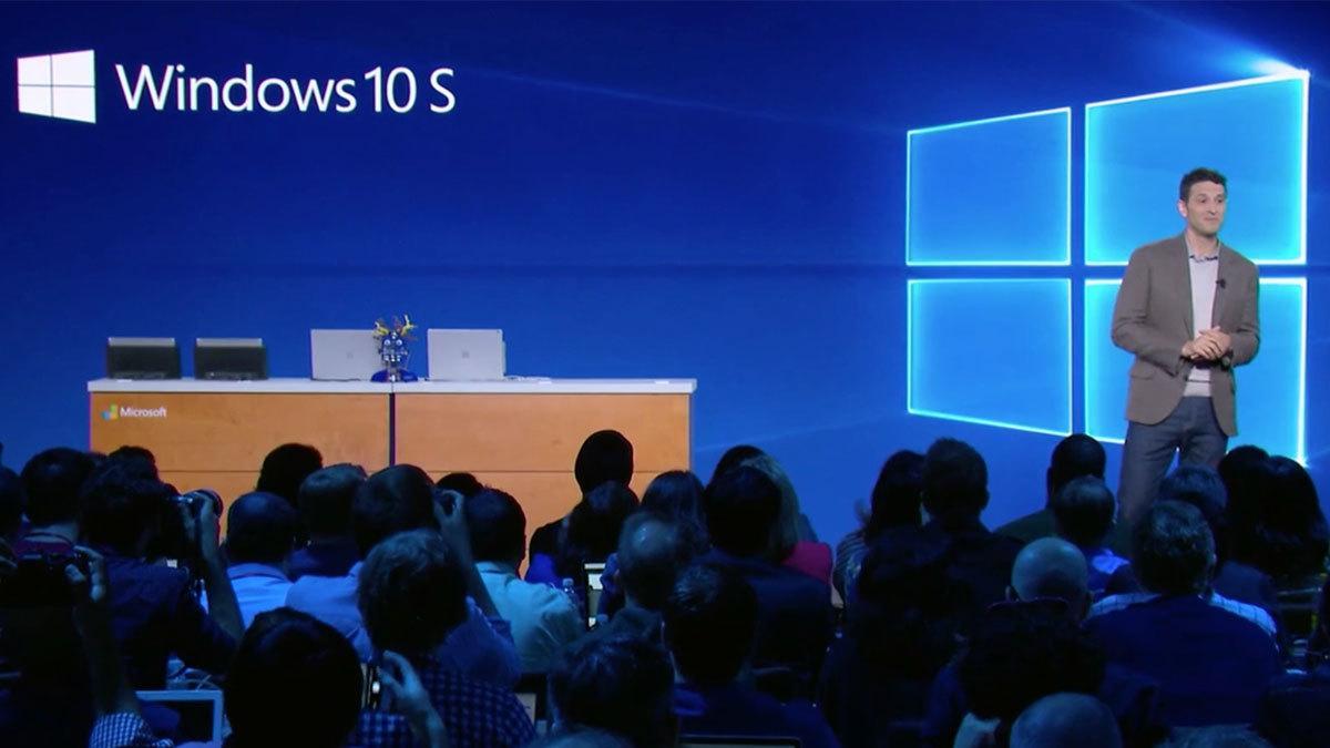 Slik funker Windows 10 S
