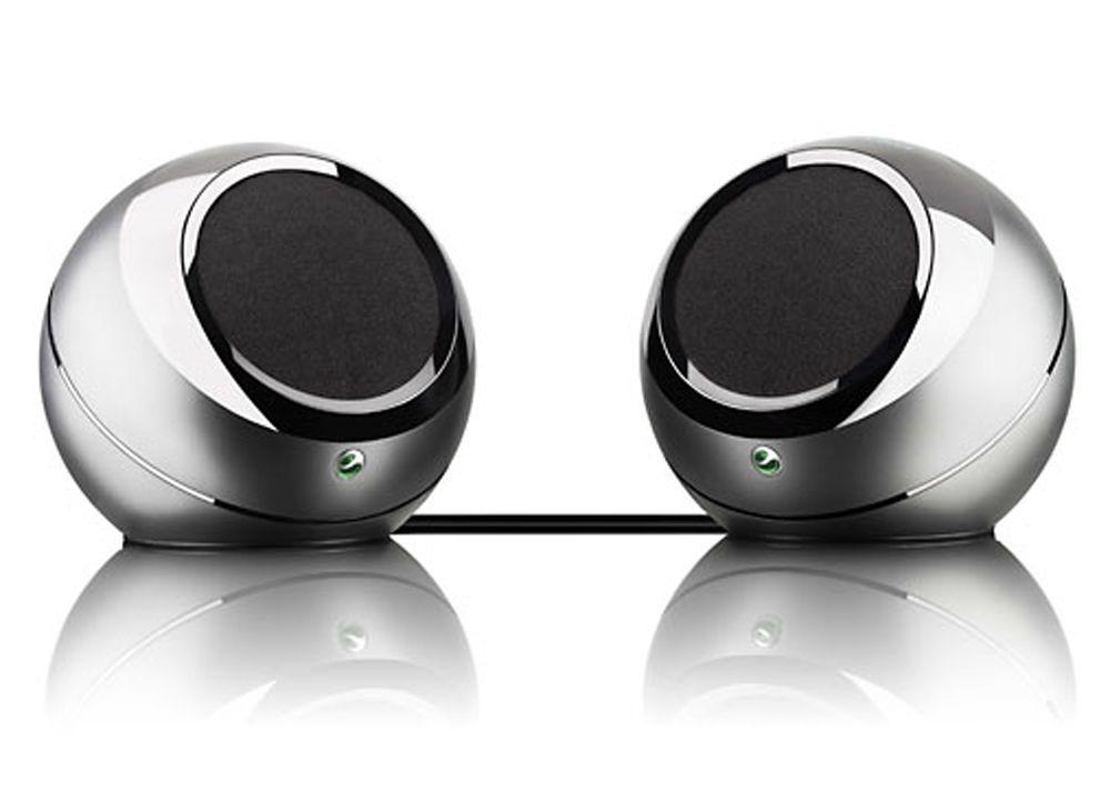 MBS-400 består av to høyttalere. Settet støtter trådløs mottak av musikk over Bluetooth.