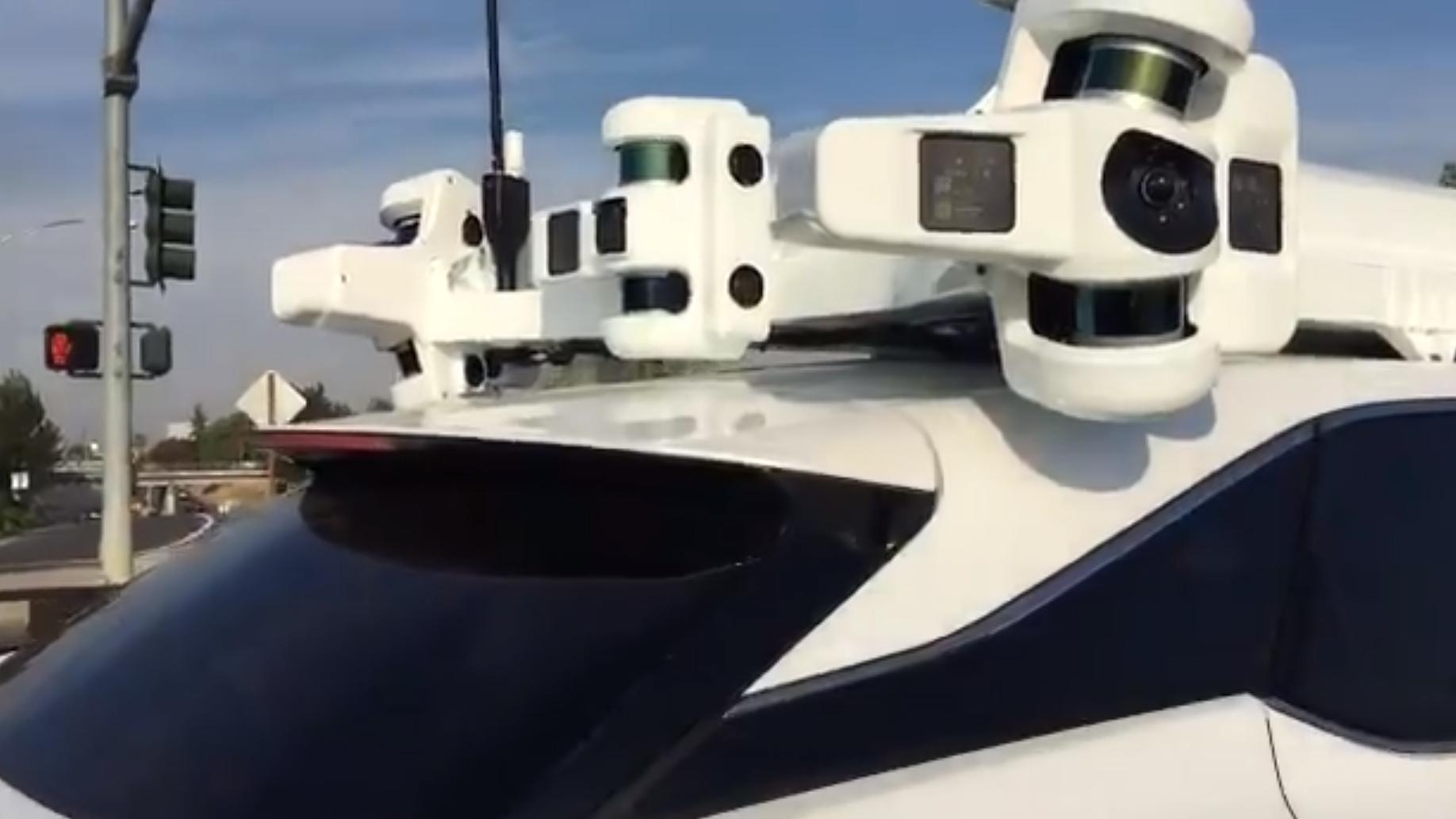Apple letter endelig på sløret om sine selvkjørende biler
