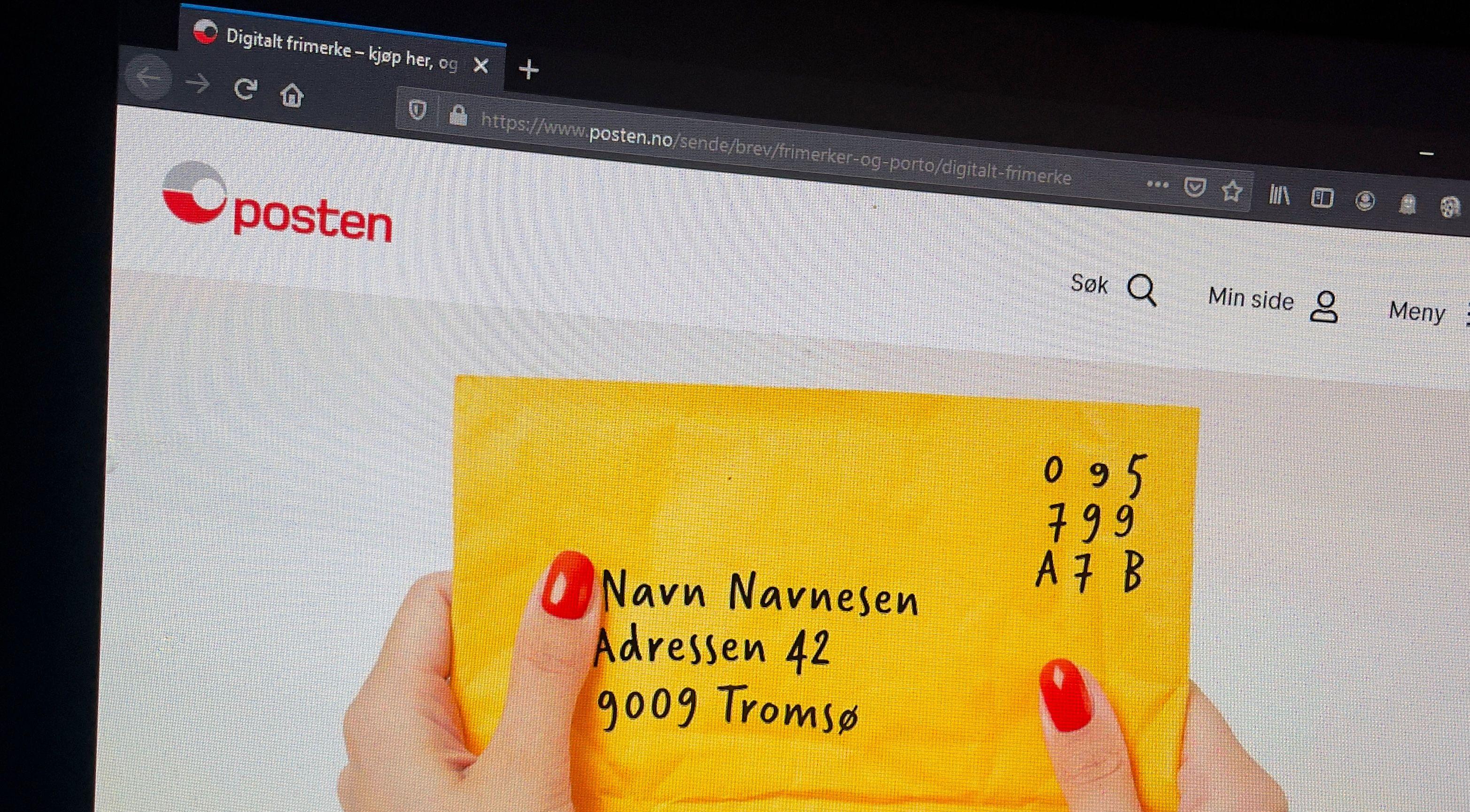 Du kan frankere konvolutter og pakker digitalt og få dem hentet hjemme. Det kan være veldig praktisk om jobben din medfører litt logistikk.