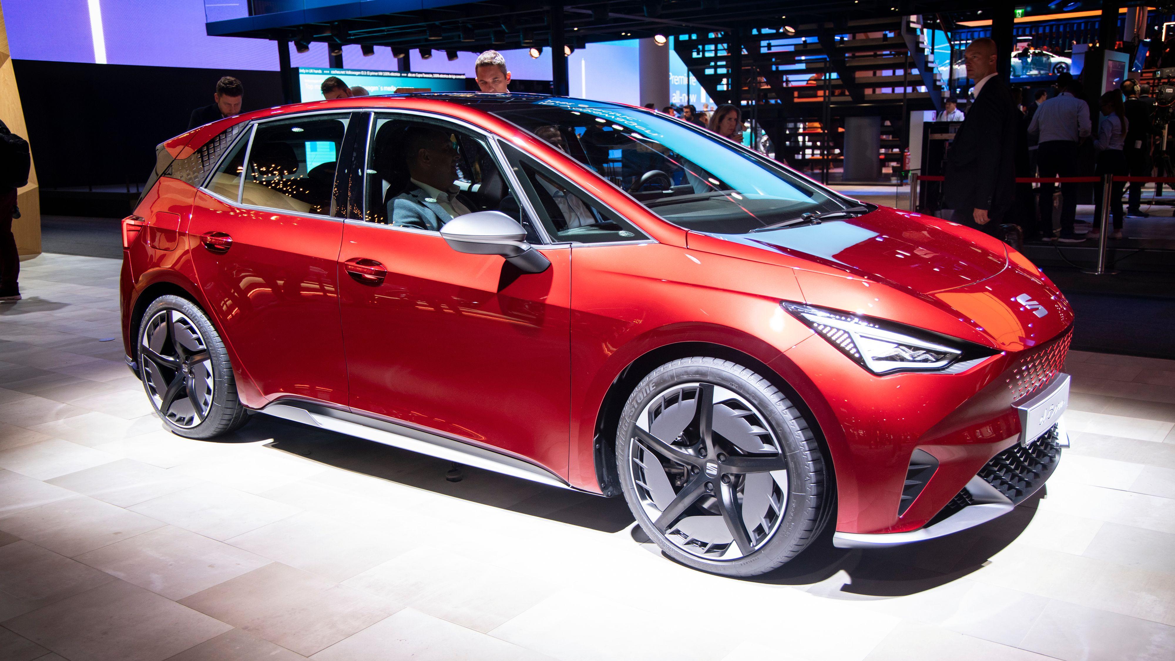 Seat el-Born er i praksis samme bil som ID.3. Den er imidlertid foreløpig kun på konseptstadiet.