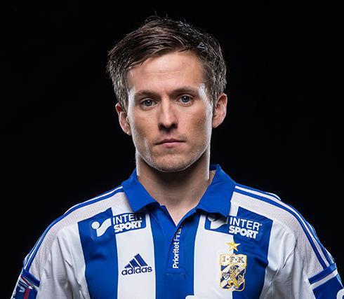 IFK-spilleren Lasse Vibe har jobbet med selvtilliten sin det siste året. Det gjorde ham til toppscorer i Allsvenskan og ga ham plass på det danske landslaget (han scoret i landslagsdebuten).Foto: ifkgoteborg.se