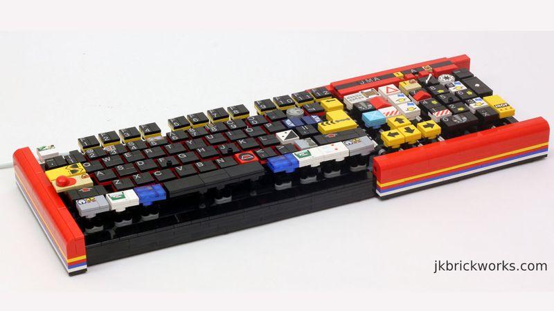 Sjekk dette LEGO keyboardet Tek.no