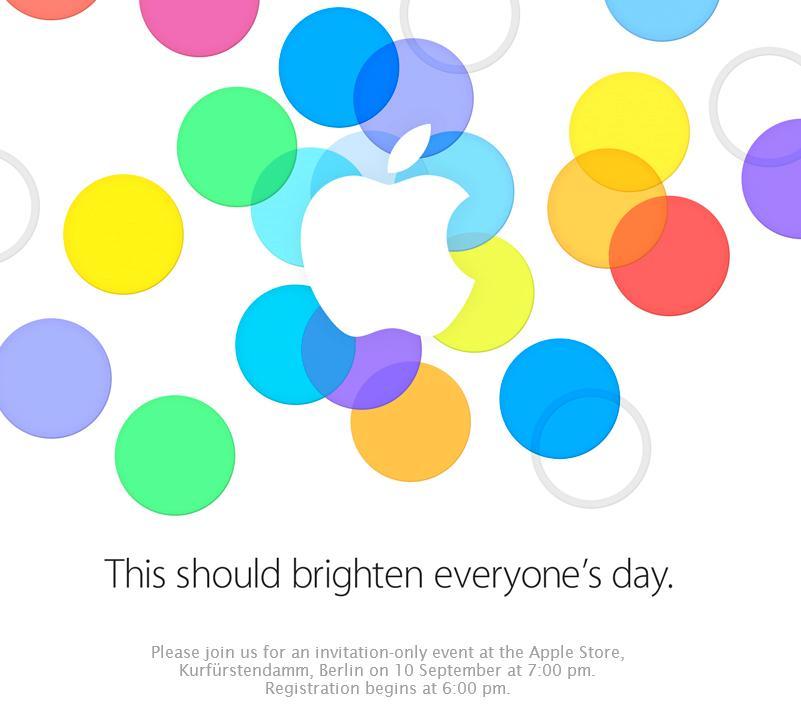 Slik ser hele invitasjonen ut.Foto: Apple