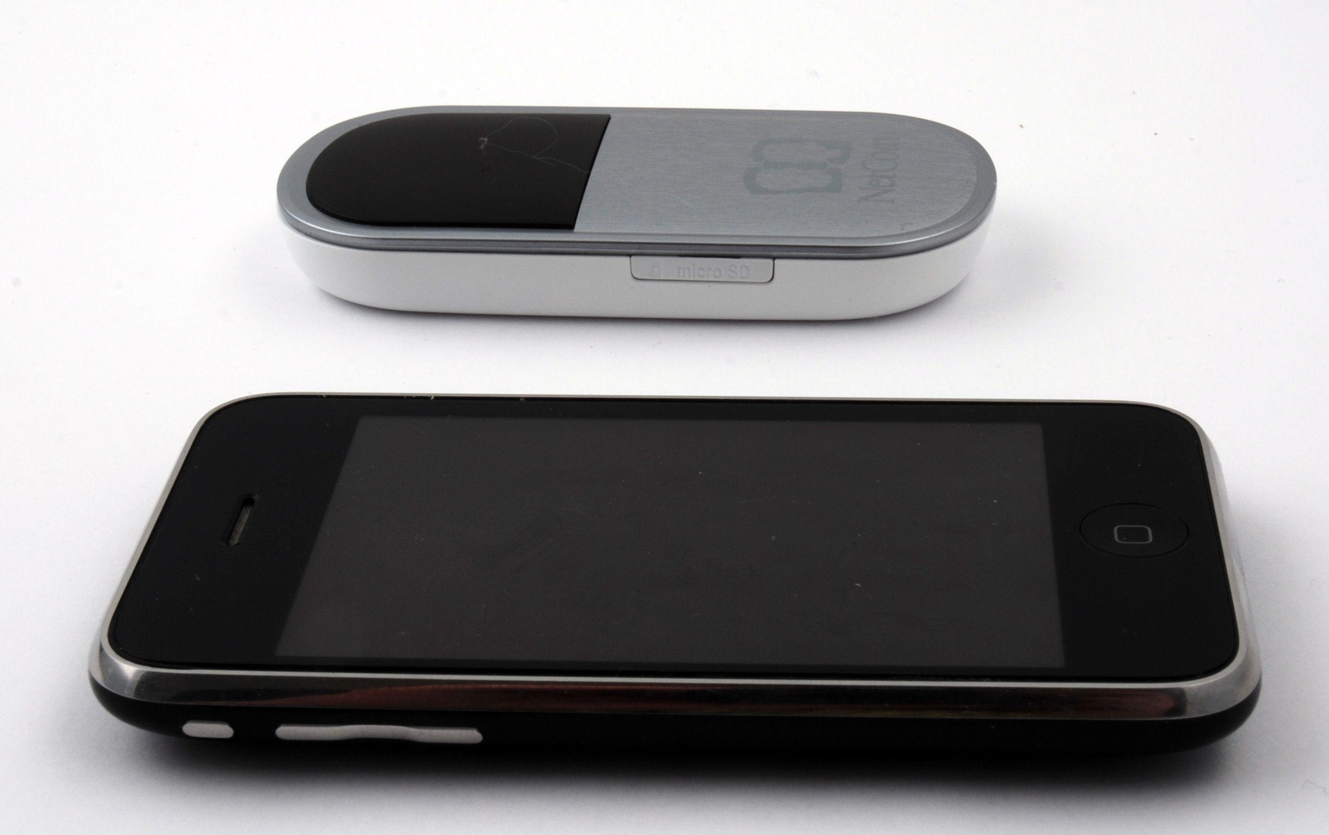 I 2010 ble trådløse rutere for alvor små og batteridrevne.