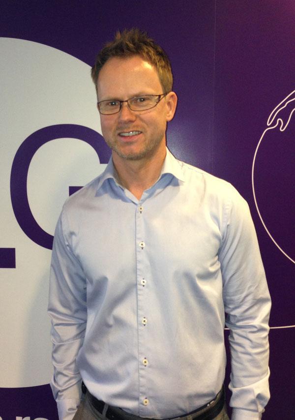 Karl Fredrik Lund, direktør for privatmarkedet i NetCom.Foto: Vegard Haugen, Amobil.no