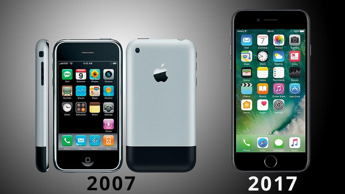 I morgen blir iOS nytt – slik har det utviklet seg